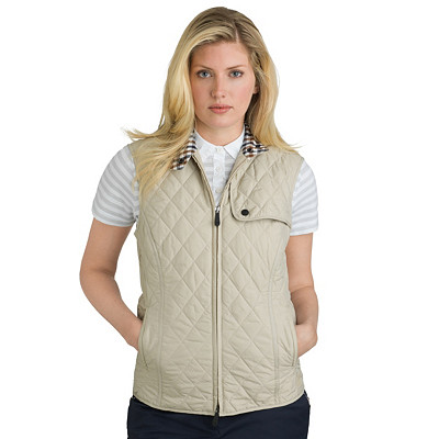 Women's Golf Vest | Sleeveless Quilt