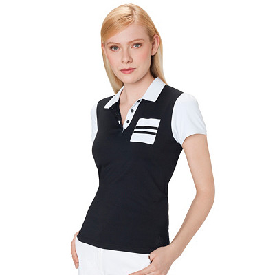 Women's Golf Polo | Technical Polo With Contrast