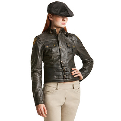 Women's Leather Motorcycle Jacket | Women's Pusher Blouson