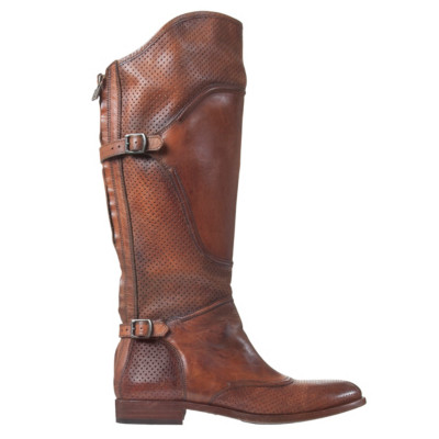 brown leather motorcycle boots by belstaff djbennett