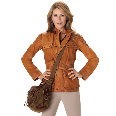 Women's Leather Jacket | Women's New Panther Replica Vent Jacket