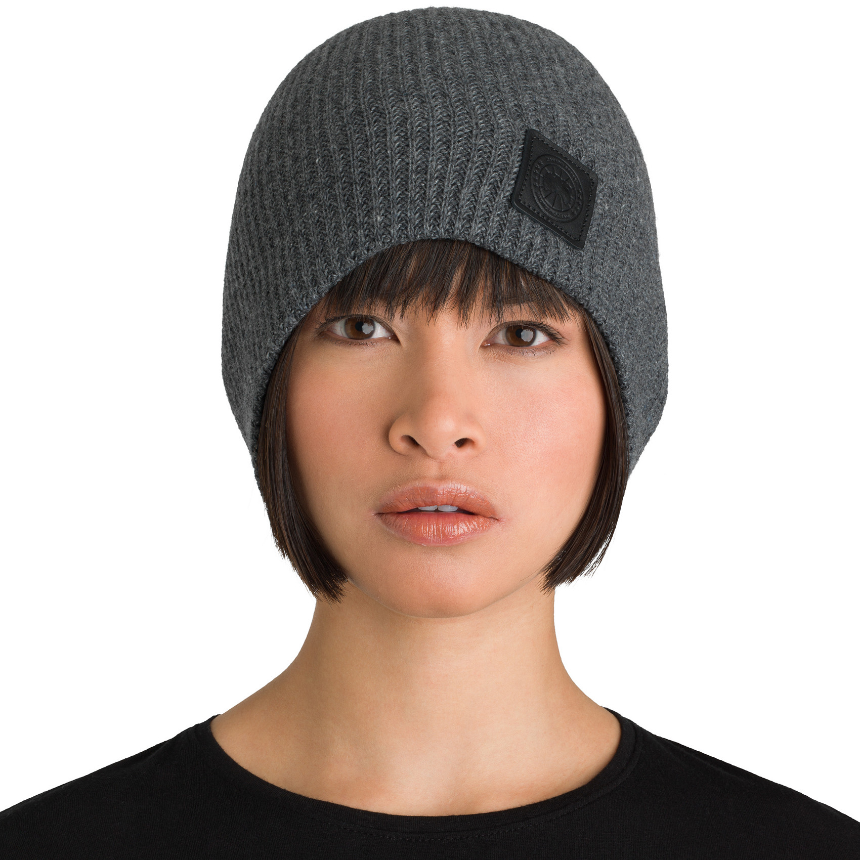 b640976bf9c6a Cable Knit Merino Wool Beanie Canada Goose - fortyninegroup