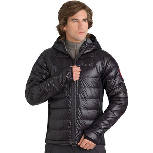 Canada Goose' men's hybridge hoody jacket