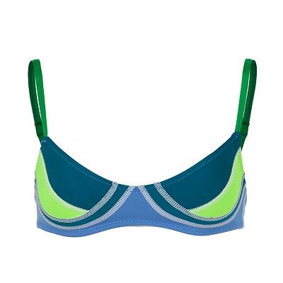 Women's Cynthia Rowley Color Block Bikini Swim Top