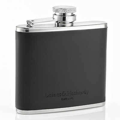 Unisex Daines & Hathway 4oz Adventure Travel Flask