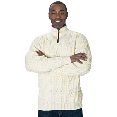 Wool Turtleneck Sweater | Henningsvaer Sweater