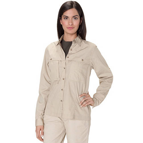 Women's Feather Cloth Fly Fishing Shirt by Filson