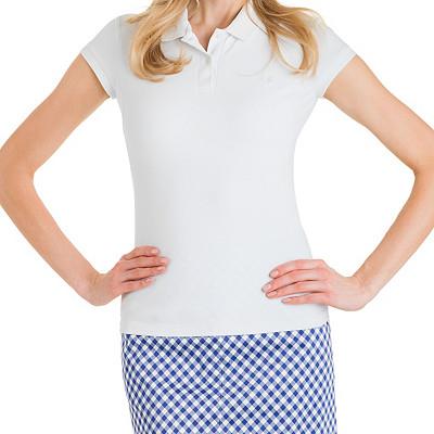 Tennis Top | Mesh Collar Cap Tennis Shirt
