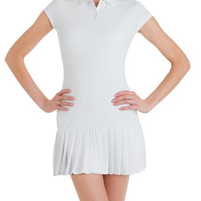 Collar Dress | Mesh Collar Tennis Dress