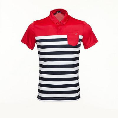 Men's J.Lindeberg Carl Slim TX Jersey Golf Polo