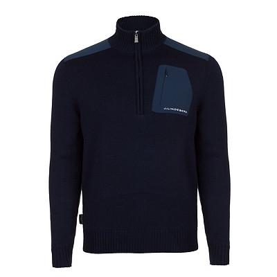 Men's J. Lindeberg Windstopper Knit Golf Sweater