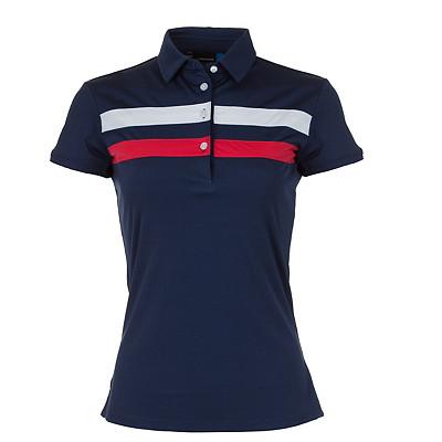 Women's J.Lindeberg Sofia TX Jersey Golf Polo
