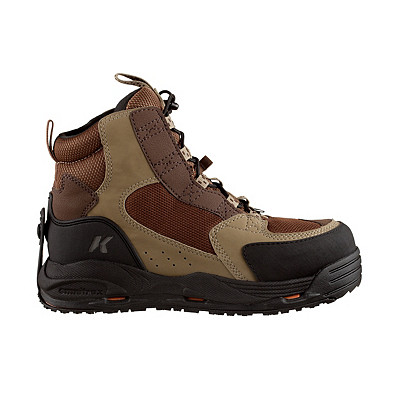 Rubber Wading Boot | Men's Korkers Redside Wading Boot with Kling-On Sole