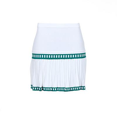 Women's L'Etoile Sport Medea Jacquard Pleat Golf Skirt