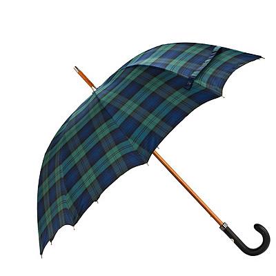 Unisex Maglia Francesco Bicolor Leather Handle Adventure Travel Umbrella