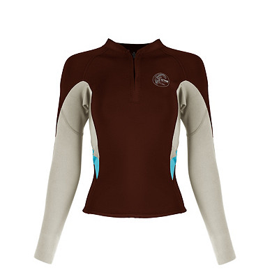 Women's O'Neill Bahia Front-Zip 1MM Wetsuit Top