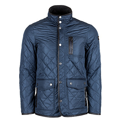 Boat Coat | Men's Paul & Shark 3/4 Quilted Boating Jacket