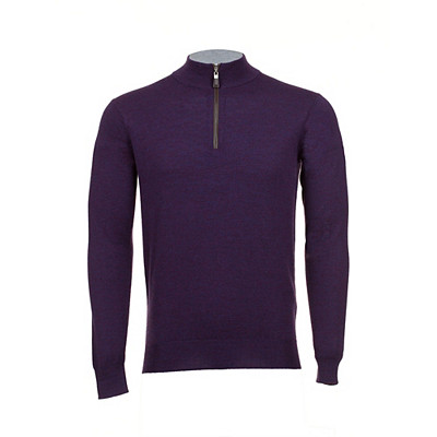 Men's Peter Millar Merino 1/4 Zip Golf Sweater