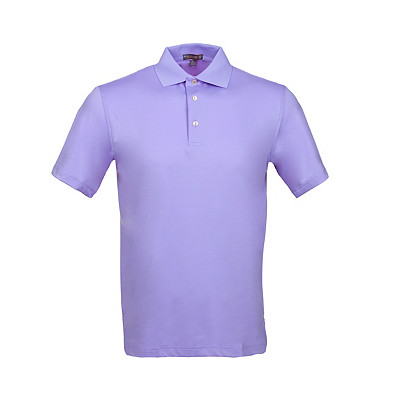 Men's Peter Millar Solid Stretch Jersey Golf Polo