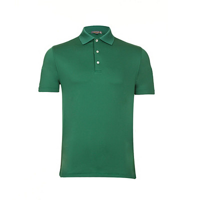 Men's Peter Millar Solid Stretch Jersey Knit Collar Golf Polo
