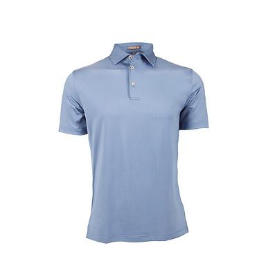 Men's Peter Millar Tradeshow Stretch Jersey Sean Self Collar Golf Polo