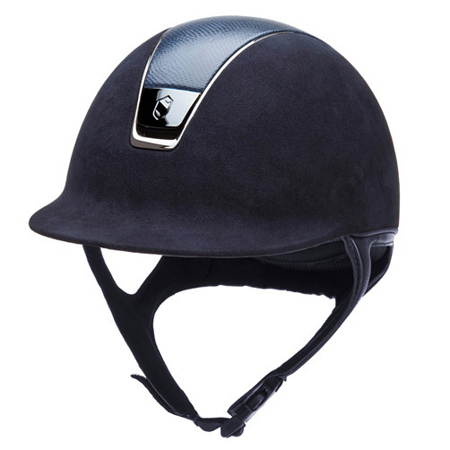 Equestrian Helmet with Lizard Top by Samshield