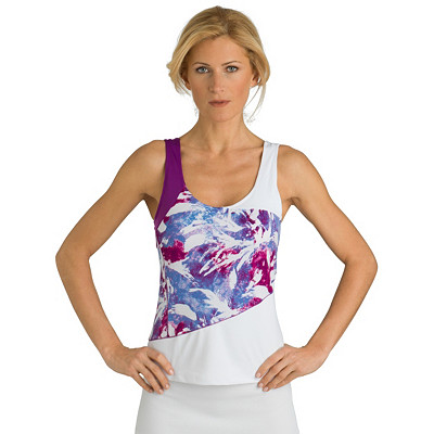 Asymmetric Top With Comp Bra
