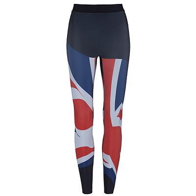 Women's Ultracor Ultra High Silk United Kingdom Print Workout Legging